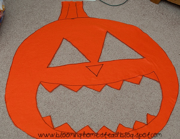How to make beanbags, Halloween style!