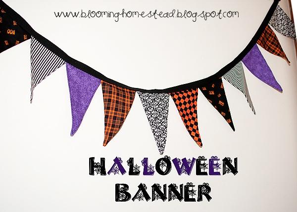 Banners- A Halloween tutorial