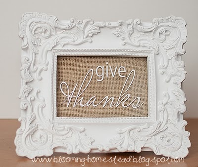 Give thanks frame