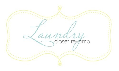Laundry Closet Re-Vamp