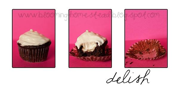 Cupcake Recipe with creme filling