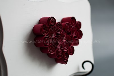 Red Heart Paper Quilling