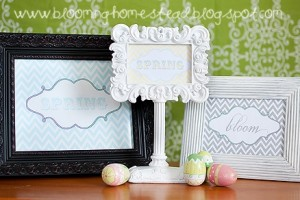 Spring Printables by Blooming Homestead