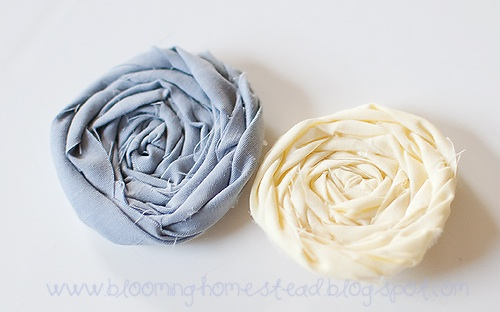 Fabric Flowers-Part 1 Rosettes