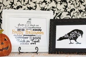 Halloween Printables by blooming homestead