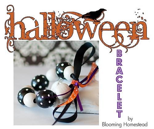 Halloween'y Bracelet