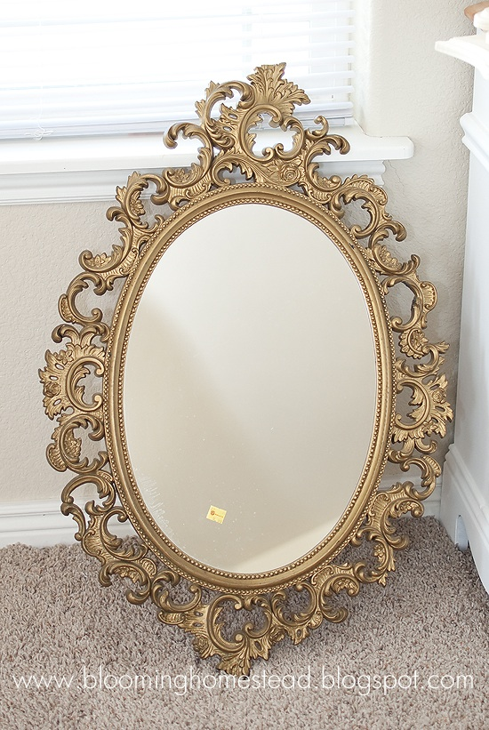 Gold Mirror Re-do