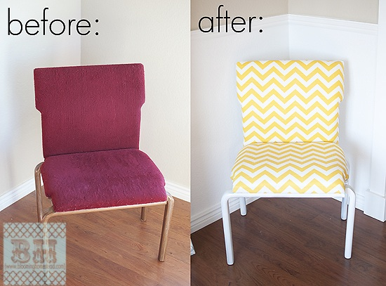 Old Chair revamped into New!