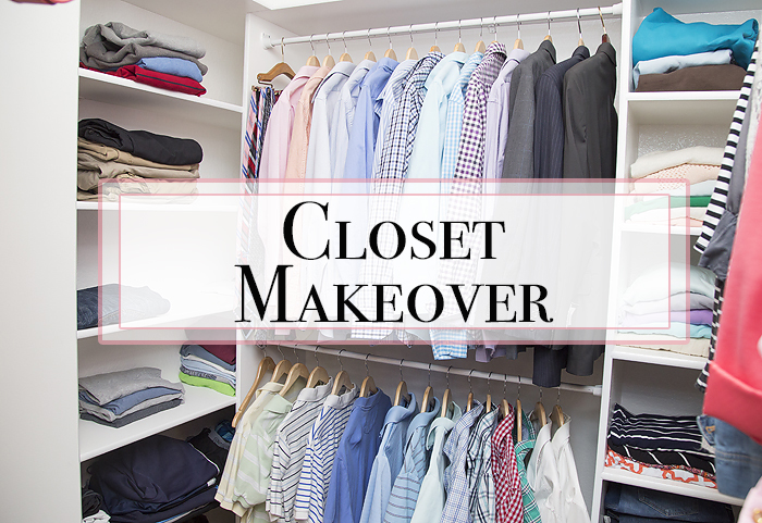 Master Closet Makeover