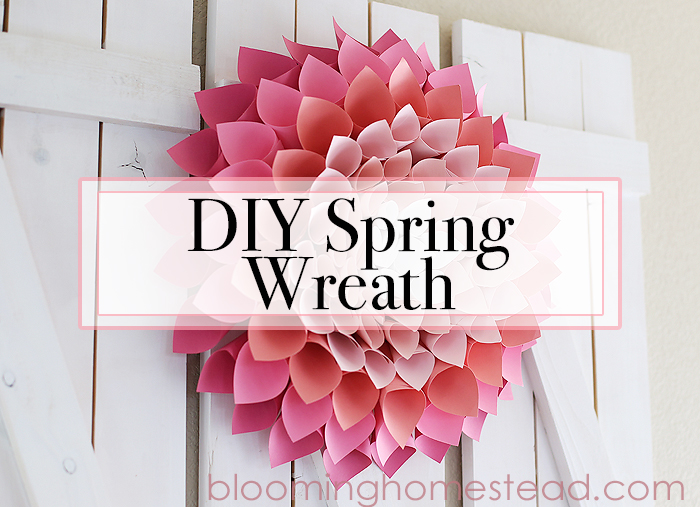 DIY Spring Wreath