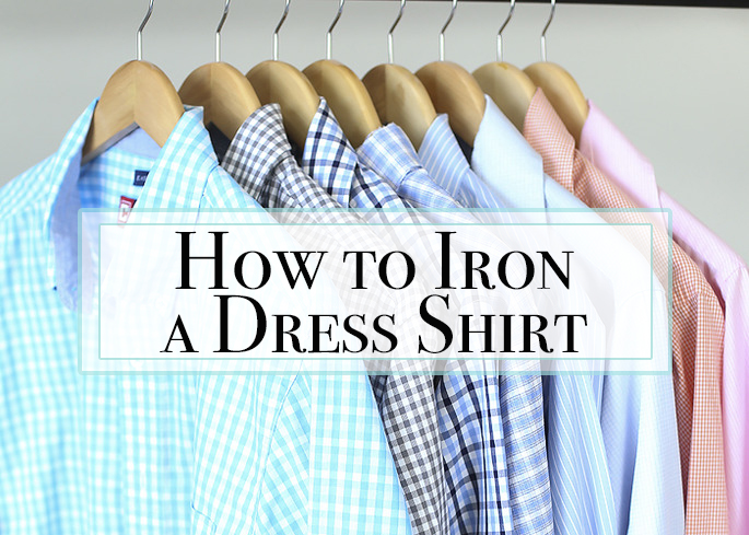 The Proper Way to Iron a Dress Shirt
