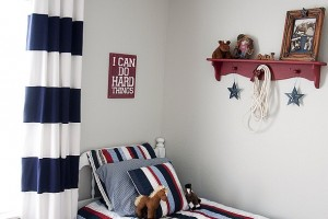Boy bedroom makeover