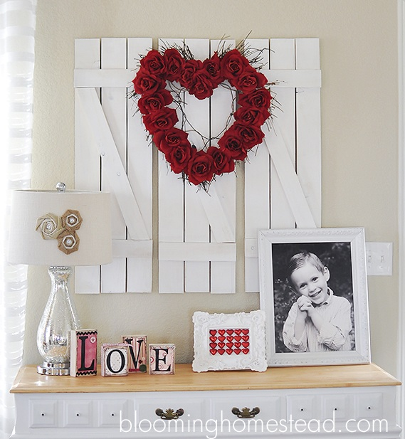 Valentine Wreath {DIY}