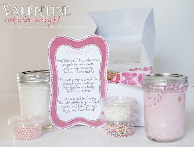 Valentine Poem for Cookie Kit {free download}