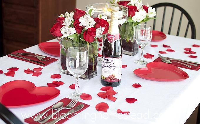 Valentine's Tablescape