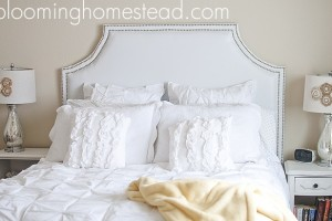 DIY headboard byBlooming Homestead