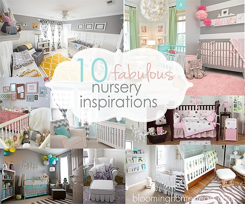 10 Beautiful Nursery Inspirations-round-up
