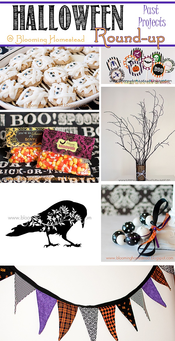 Halloween Round-up {Past Projects}
