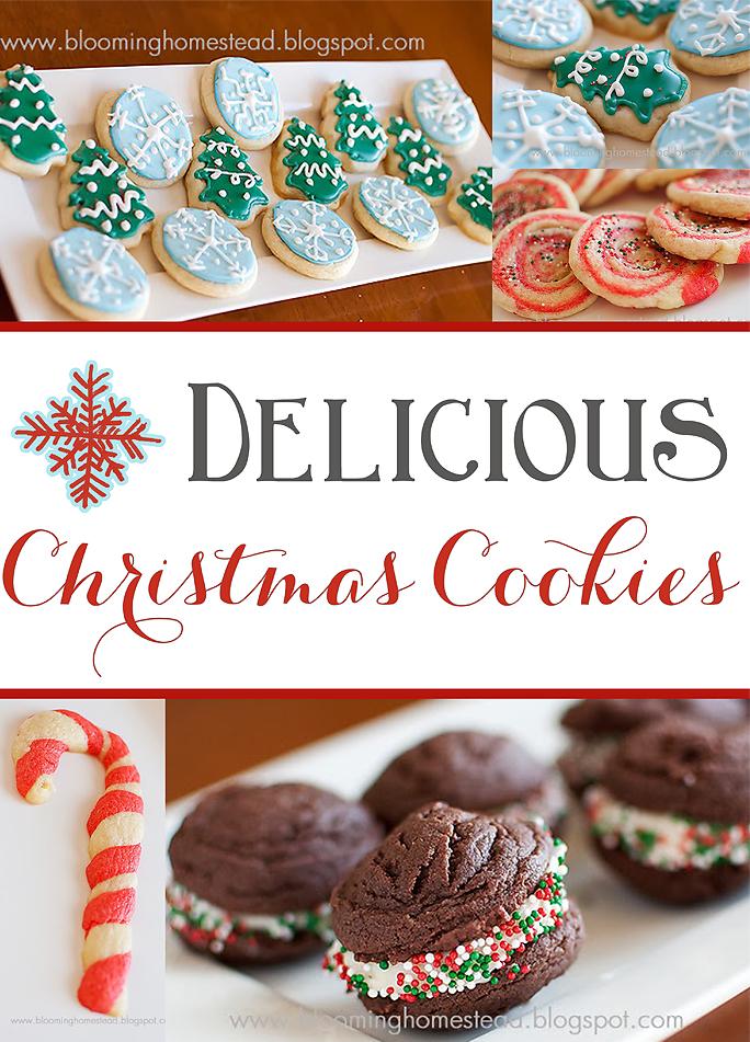 Christmas Cookies by Blooming Homestead