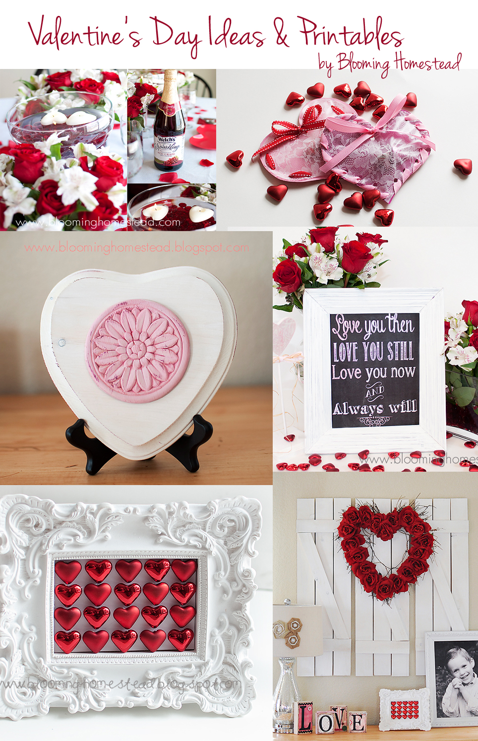 Valentine's Day Ideas {Past Projects}