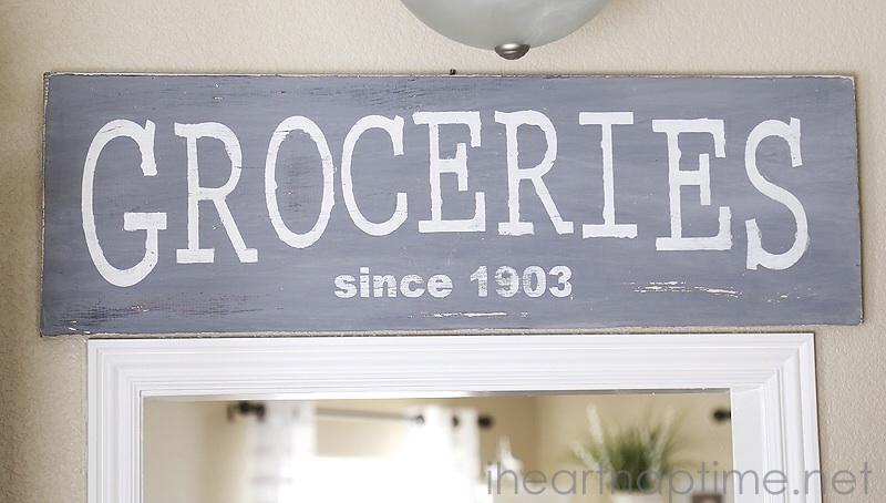 Vintage Sign Tutorial