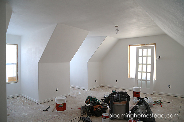 Attic Room Remodel Part 2