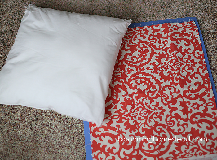 Easy DIY Pillow Cover