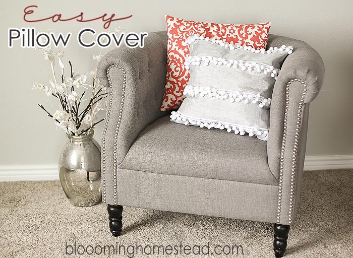 Easy DIY Pillow Slipcovers