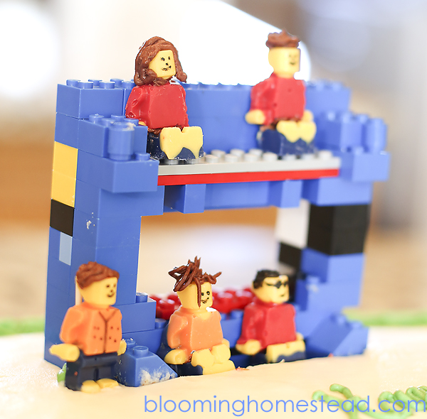 Lego Movie Cake by Blooming Homestead