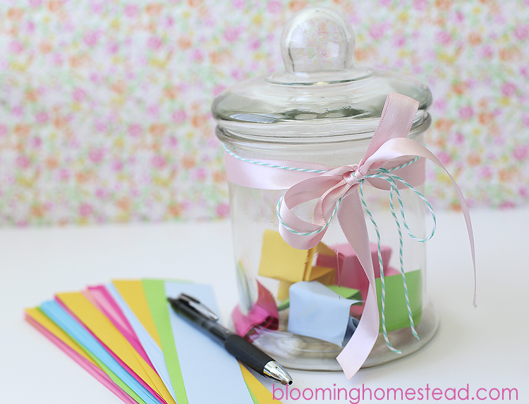 Summer Idea Jar