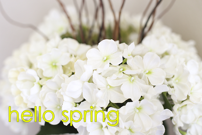 Spring Vignette & Decor