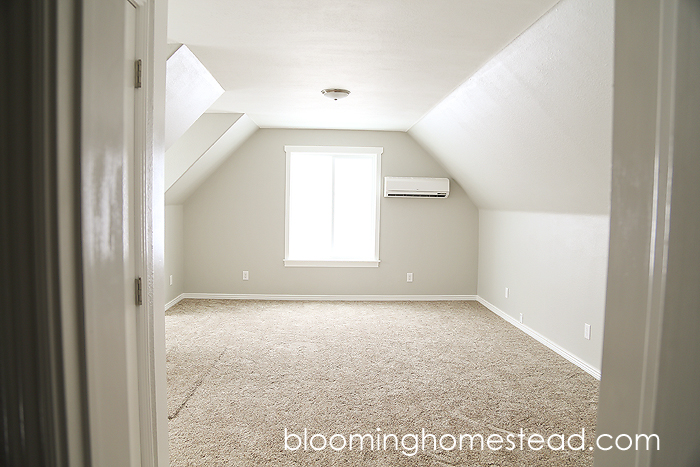 Attic Room Remodel