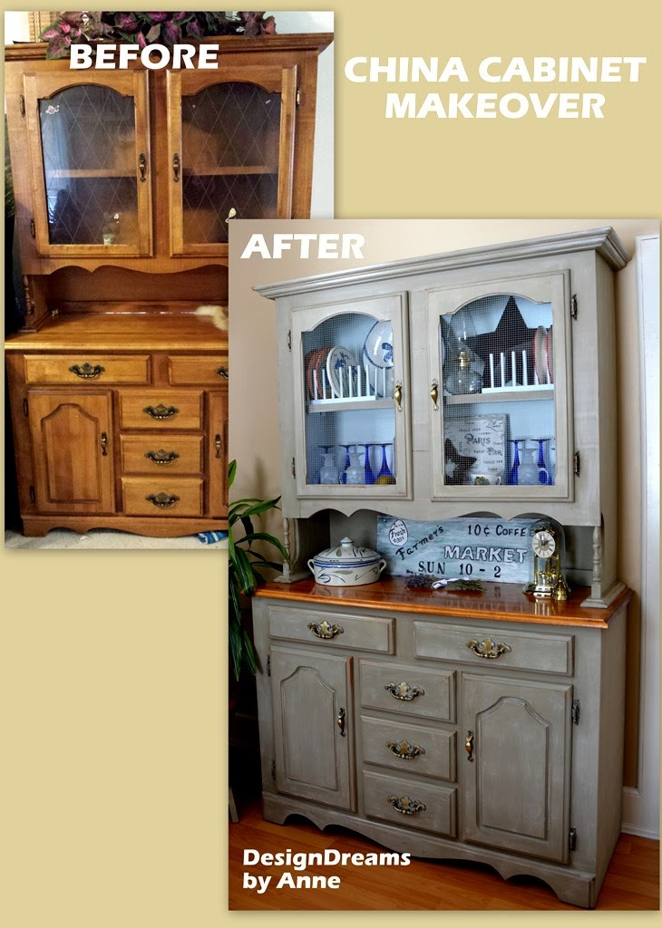 30 Fabulous Ideas For Your Home Blooming Homestead : China Cabinet Before After from www.bloominghomestead.com size 730 x 1024 jpeg 143kB