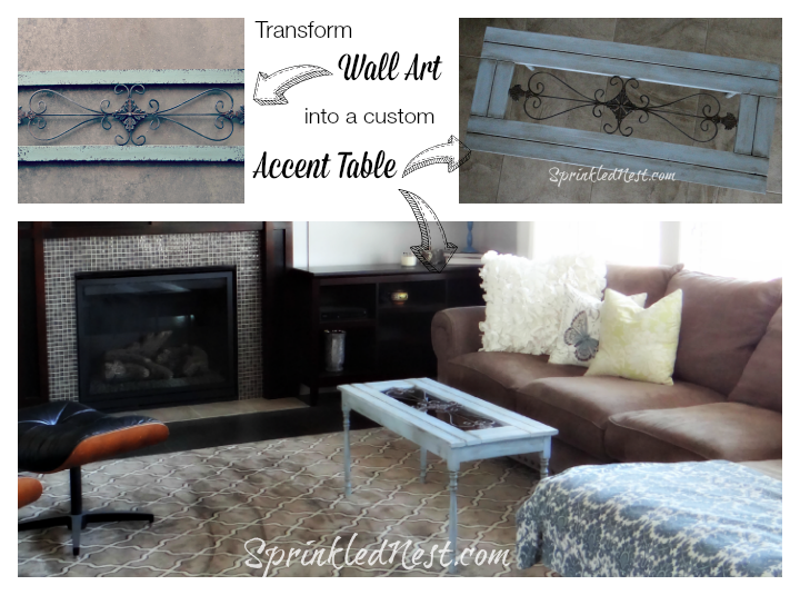 Transform-Wall-Art-into-a-custom-Accent-Table