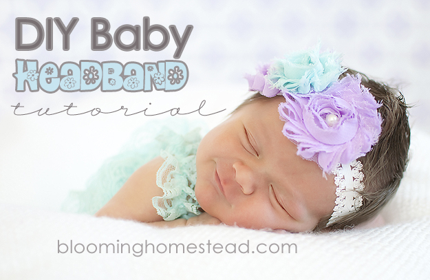Baby Headband at Blooming Homestead