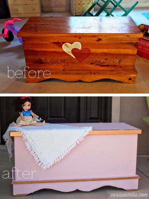 hope chest before and after
