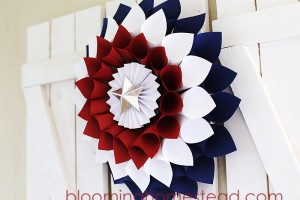 Patriotic Wreath by Blooming Homestead3