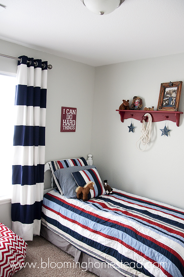 Boy Bedroom by Blooming Homestead