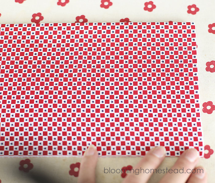 DIY Fabric Banner by Blooming Homestead2