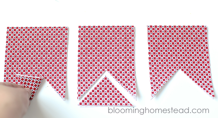 DIY Fabric Banner by Blooming Homestead7