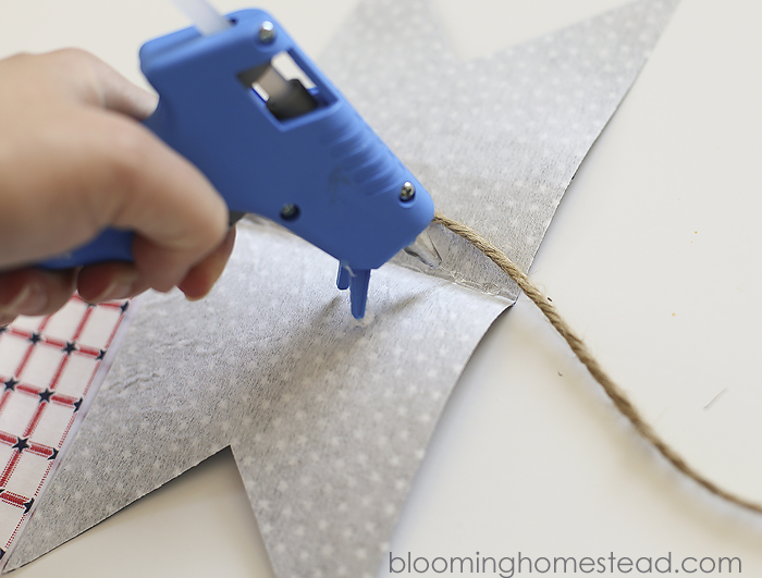 DIY Fabric Banner by Blooming Homestead8