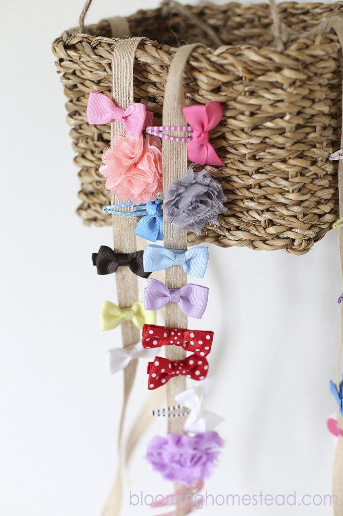 DIY Hairbow Holder by Blooming Homestead8