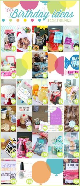 101 Birthday Ideas for Friends 5 (2)