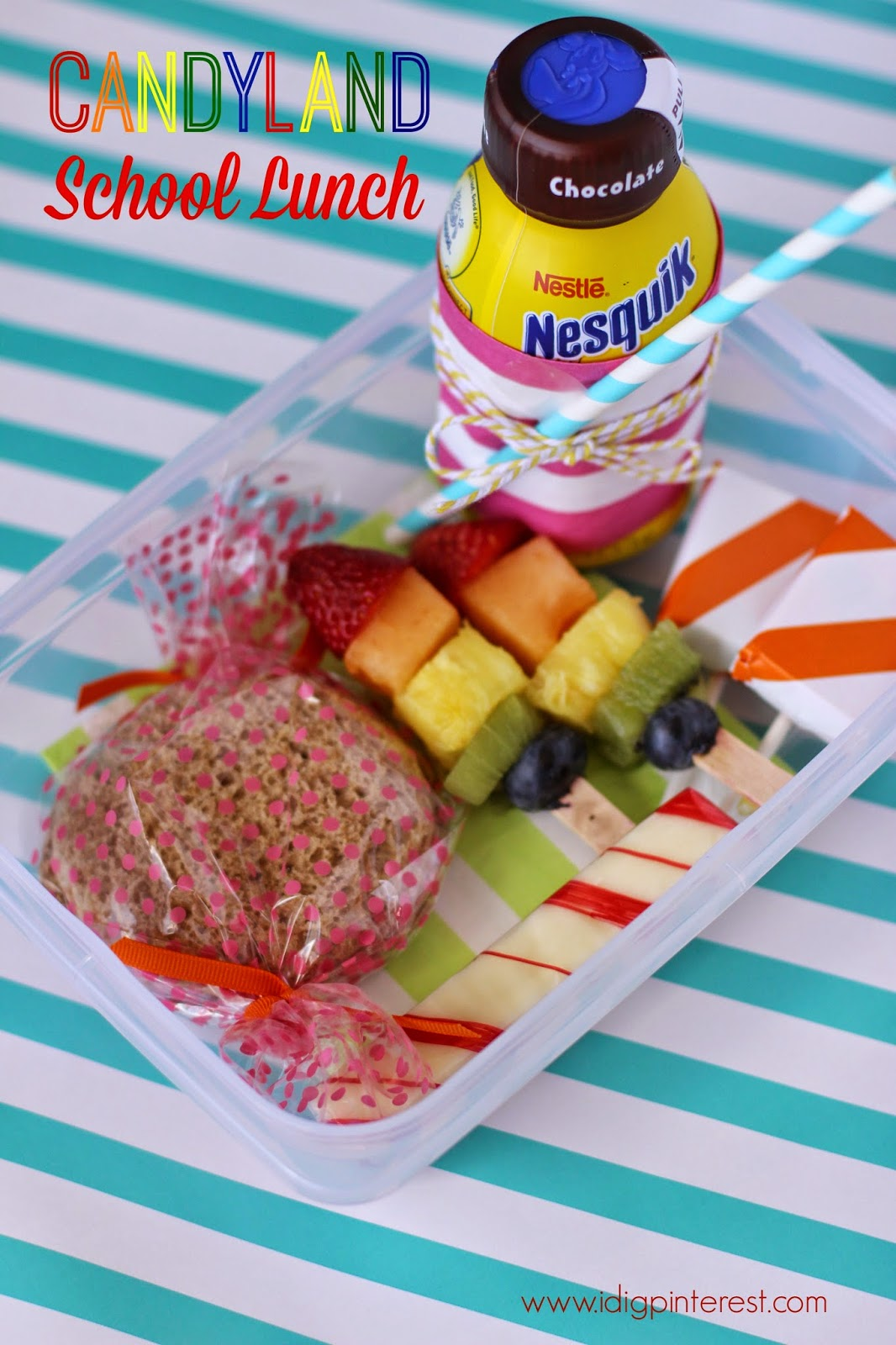 Back To School Lunch & Snack Ideas