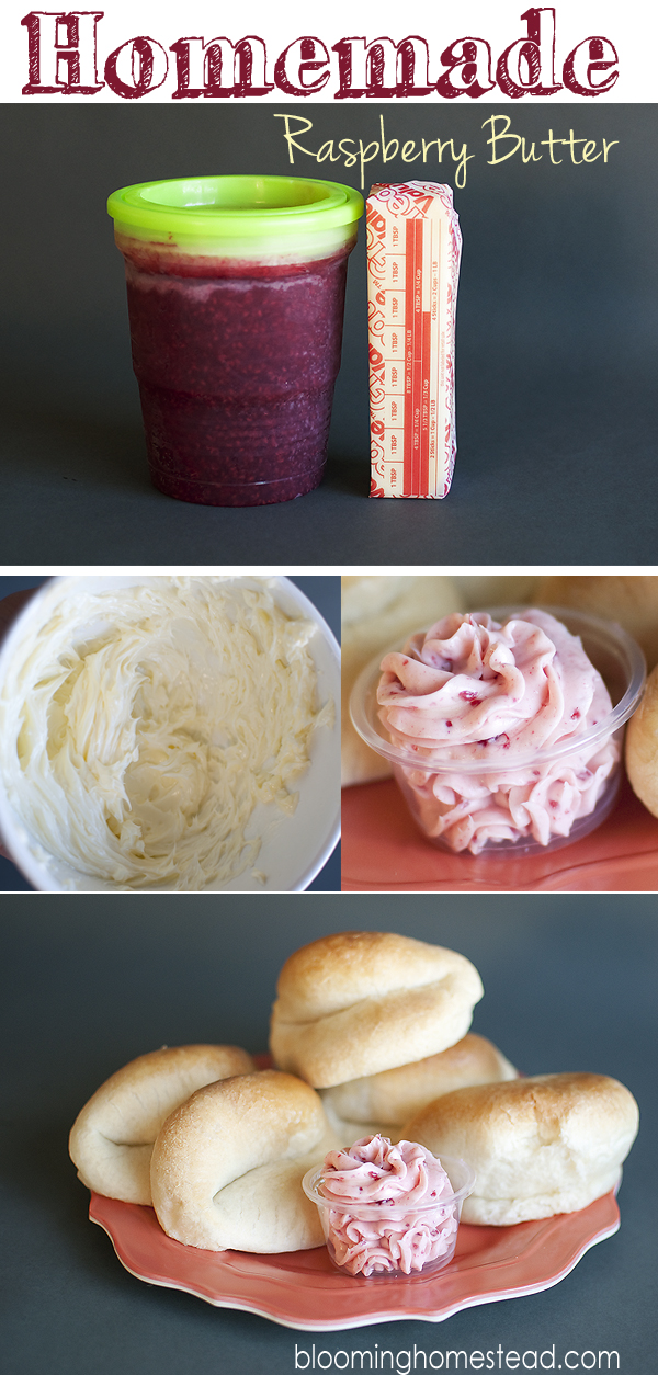 Raspberry Butter by Blooming Homestead