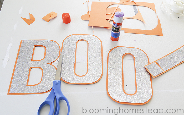 Boo Banner by Blooming Homestead