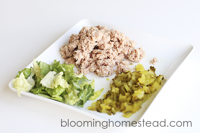 3Tuna Salad Sandwich by Blooming Homestead