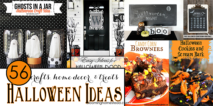 56 Halloween Ideas- Crafts, home decor, & treats