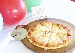 Back to School Pizza Night by Blooming Homestead