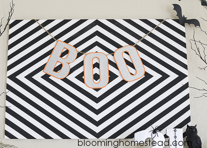 Boo Banner by Blooming Homestead copy